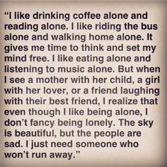 .pretty and sorta sad quote