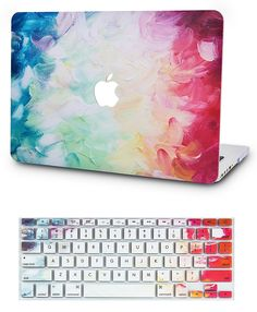 KECC Laptop Case for MacBook Pro w/Keyboard Cover Plastic Hard Shell Touch Bar 2 in 1 Bundle (Fantasy) Macbook Pro, Coque Macbook Air 13, Macbook Air 13 Inch, Macbook Case, Macbook Air Cover, Laptop Keyboard Covers, Mac Laptop, Computer Case, Laptop Stickers
