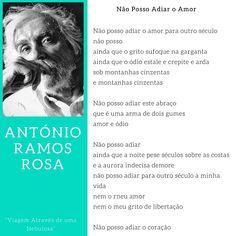 António Ramos Rosa - Não posso adiar o Amor