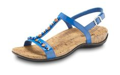 Orthaheel Bali in cobalt - I'm either gonna get these or the the Orthaheel Julie