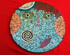 Funny Face: Whimsical and Quirky Mosaic Art by MosaicsbyCattyGirls