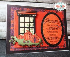 Best Glue, Orange Pattern, Fall Cards, Lawn Fawn, Pattern Paper, Different Colors, Card Stock, Scene