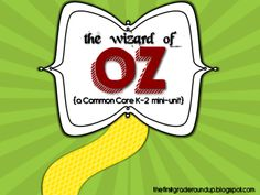 Wizard of Oz K-2 Companion Packet from First Grade Roundup on TeachersNotebook.com -  (43 pages)  - Need a fun and engaging way to use the Wizard of Oz with K-2 kiddos?  This mini-packet is designed to engage kids in Common Core Literature students with a text loved by all!