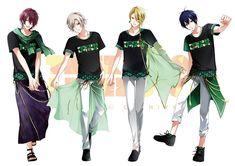 Tweet phương tiện bởi ツキノ芸能プロダクション(ツキプロ)公式 (@tsukino_pro) | Twitter M Anime, Anime Love, Anime Guys, Mahouka Koukou No Rettousei, Tsukiuta The Animation, Wise Monkeys, Cute Games, Emo Boys, Anime Outfits