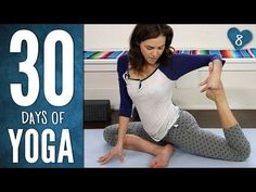 Day 8 - Yoga For Healing & Meditation - 30 Days of Yoga - YouTube. Day 8. #ChairYogaFitness with Gaileee