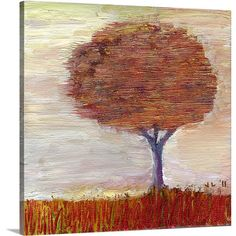 Found it at Wayfair - 'Autumn Mist' by Jennifer Lommers Painting Print on Canvas