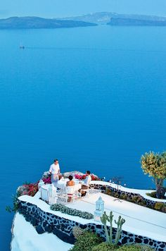 Santorini Wedding Locations #venues