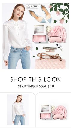 """""""Lilysilk"""" by pastelneon ❤ liked on Polyvore featuring Gianvito Rossi"""