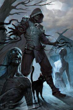 Image in fantasy✨ collection by amalgama on We Heart It Foto Fantasy, High Fantasy, Fantasy Rpg, Medieval Fantasy, Dark Fantasy Art, Fantasy Artwork, Fantasy World, Fantasy Magician, Fantasy Character Design