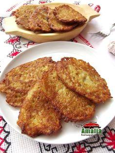 Hremzle - chiftelute de cartofi Facebook Recipe, Romanian Food, Savory Snacks, French Toast, Cooking, Breakfast, Diet, Salads, Kitchen