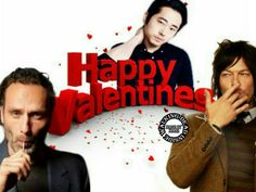 The Walking Dead, Memes, Andrew Lincoln, Norman Reedus, Steven Yeun, Valentines
