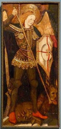 Martin de Soria (1449–1487) San Miguel arcangel, between 1459 and 1460, Museo de Zaragoza