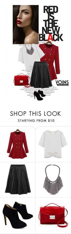 """Yoins 4/10"" by mell-2405 ❤ liked on Polyvore featuring Giuseppe Zanotti, Loeffler Randall and yoins"