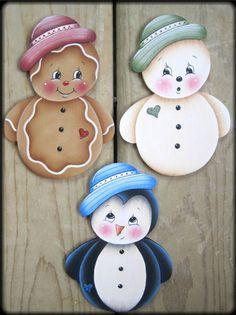Articles similaires à Roly Poly Ornaments Painting E-Pattern sur Etsy
