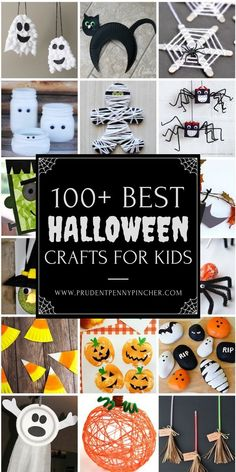 october crafts for kids These Halloween crafts will provide hours of spooktacular fun for your kids. From wicked witches and ghoulish ghosts, there are plenty of craft ideas here Costume Halloween, Halloween Class Party, Halloween School Treats, Halloween Arts And Crafts, Halloween Crafts For Kids, Halloween Activities, Halloween Projects, Craft Activities For Kids, Diy Halloween Decorations