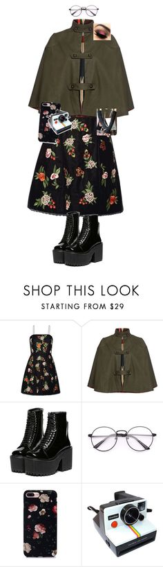 """""""Untitled #927"""" by tumblristicdaisies on Polyvore featuring Alice + Olivia, Stella Jean and Polaroid"""