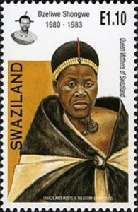 Inkhosikati LaShongwe (b. Dzeliwe Shongwe 1927 – was Queen Regent of Swaziland between 21 September 1982 and 9 August City Of God, Queen Mother, Mail Art, Stamp Collecting, Postage Stamps, Black History, The Past, Mothers, Coins