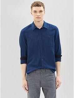 1969 gingham worker shirt