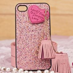 Iphone Case. Sweet Heart Snap-on Case Compatible with iPhone 4&4s/5.