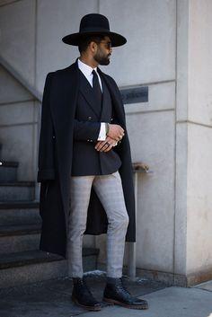 Street Style: New York Men's Fashion Week Fall 2016 - theFashionSpot