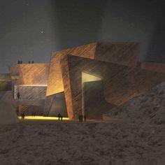 auditorium and congress center in morro jable - menis arquitectos