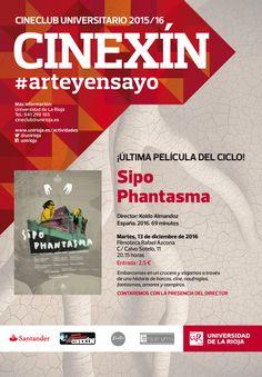 Cine Club Universitario Cinexín #arteyensayo. Proyección de la película 'Sipo Phantasma', de Koldo Almandoz.