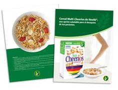 Diseño publicitario/editorial - Stop Diseño Gráfico - Diseño de Fólder Cheerios - Cereal Partners Worldwide - Nestlé Chile.