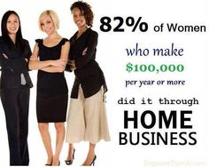 Do you want to be in the 82% bracket of Women or 18%? Message me today!