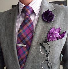 Ralph Lauren blazer, Hudson Room shirt, Impuntura tie, JF Rey frames