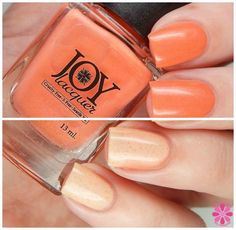 Peaching to the Coral | Changing Hues Collection | Joy Lacquer
