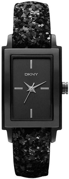 $107 DKNY Watches Sale! Up to 75% OFF! Shop at Stylizio for women's and men's designer handbags, luxury sunglasses, watches, jewelry, purses, wallets, clothes, underwear & more! Stylish Watches, Elegant Watches, Cool Watches, Luxury Watches, Black Sequins, Black Sparkle, Tank Watch, Skagen Watches, The Doors