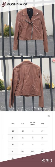 Women's BARNEY'S New York Jacket brown (size M) NEW WITHOUT TAG. This is a slim fitting, medium weight jacket that hits at the waist. - Medium weight- Pockets- Slim fit- Waist length Barneys New York Jackets & Coats Utility Jackets