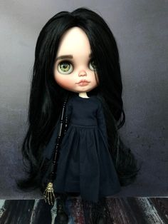 Your place to buy and sell all things handmade Bratz Doll, Ooak Dolls, Blythe Dolls, Art Dolls, Vanellope Y Ralph, Crea Fimo, Chin Hair, Gothic Dolls, Dream Doll