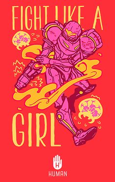• Illustration design video games scifi metroid Samus Aran Samus ridley fight like a girl chozo cklookshuman •