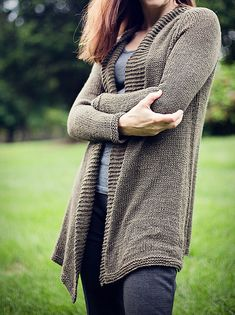Ravelry: Woodsy Cardi pattern by Jennifer Wood
