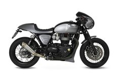 At Tamarit Motorcycles we have specialized in the design of craftsmanship and customization of Triumph motorcycles: Bonneville, Thruxton and Scrambler. Triumph Bonneville T120, Triumph Motorcycles, Custom Motorcycles, Cafe Racer Kits, Cafe Racer Style, Brat Bike, Scrambler Motorcycle, Honda Cb, Audi Tt