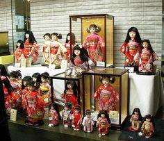 Ichimatsu dolls, Togyoku by angelynx_prime, via Flickr