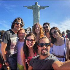We ❤️ Rio... @bexmader @lparrilla @seanmaguire @colinodonoghue @marckayne @fred_diblasio @onceabcofficial #OnceUponATime #EverAfter #EverAfterBRCon #EvilRegals #bexmader #lanaparrilla