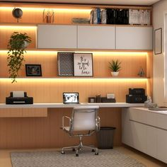Home Office Furniture Design, Home Office Table, Home Office Setup, Office Interior Design, Office Interiors, Home Office Lighting, Modern Home Offices, Small Home Offices, Small Office Design