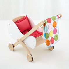 Doll World Pram in Nod Exclusives | The Land of Nod