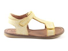 Bisgaard+70248-83+sandalen++geel+(maat+26-38)
