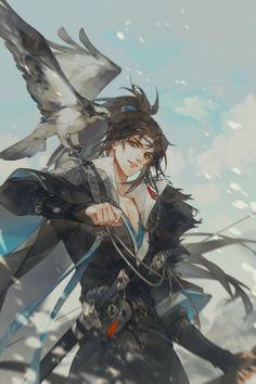 Review Đam Mỹ – Thương Tiến Tửu – Eric Cute Anime Character, Character Art, Character Design, Chinese Drawings, Chinese Art, Anime Demon, Manga Anime, Fantasy Art Men, Handsome Anime