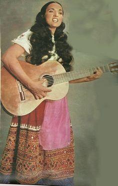 Maria Carta Scatti fotografici per la partecipazione a Canzonissima 1974