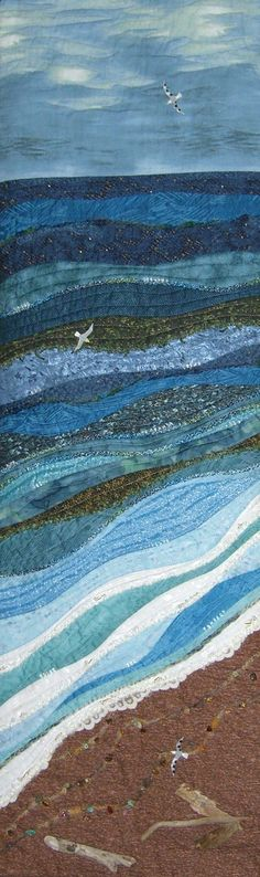 Seaside quilt... link just goes to photo