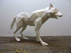 Mythology Inspired Polygonal Animal Sculptures By Paul Cummings
