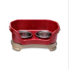 Symbol Of The Brand Stainless Steel Pet Dishes Fits Neater Feeder Replacement Bowls All Sizes Durable Modeling