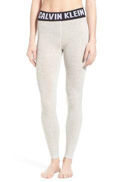 CALVIN KLEIN 'Retro' Logo Leggings. #calvinklein #cloth #