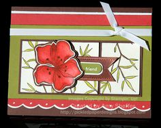Ruby Embrace Life by PickleTree - Cards and Paper Crafts at Splitcoaststampers