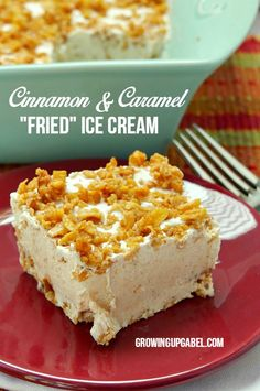 Make fried ice cream for a crowd with this easy no fry dessert recipe! Tastes just like it's from a Mexican restaurant, but feeds a crowd! Frosted flakes gives this fun dessert the crunchy it needs for a delicious end to any meal.