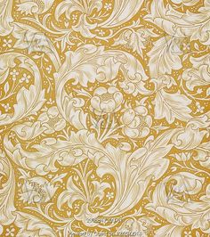 Bachelor's Button wallpaper, by William Morris. England, 1892 So beautiful